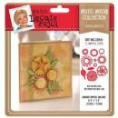 Crafters Companion - Leonie Pujol Mixed Media Die - Floral Bursts